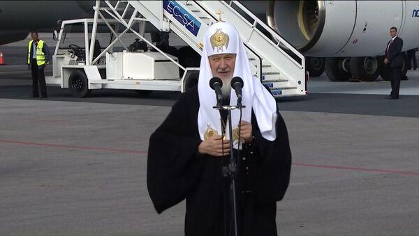 Патриарх Кирилл в Гаване напомнил о давней дружбе между Россией и Кубой - Sputnik Латвия