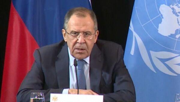 Лавров рассказал о достигнутой договоренности по прекращению огня в Сирии - Sputnik Латвия