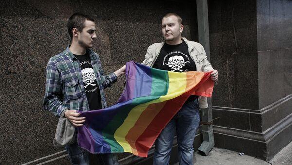 Флаг ЛГБТ - Sputnik Латвия