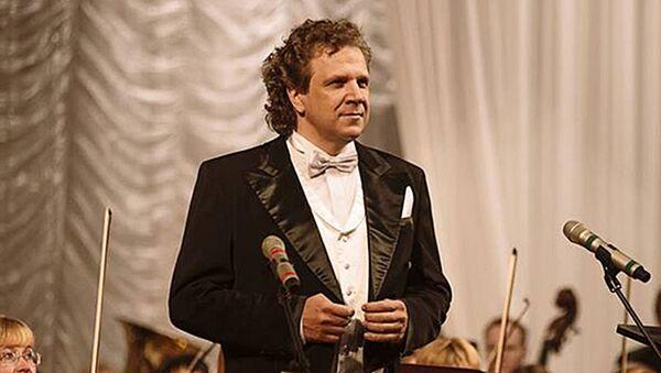 Дмитрий Галихин Солист оперного театра Московской консерватории - Sputnik Латвия