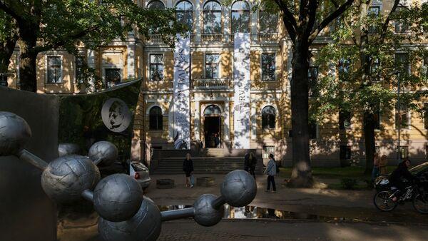 Bijusī Bioloģijas fakultāte Kronvalda bulvārī 4 - Sputnik Latvija
