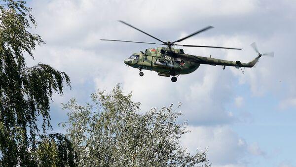 Вертолет Ми-8 ВВС Белоруссии - Sputnik Латвия