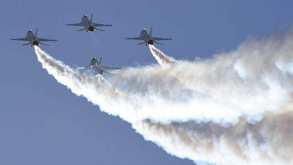 Истребители F-16 - Sputnik Латвия