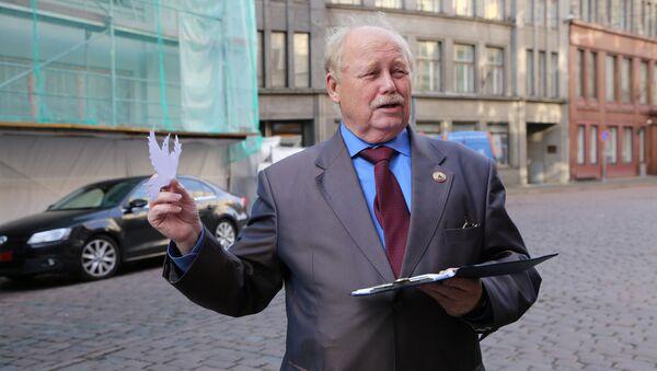 Организатор рижской акции Владимир Норвинд - Sputnik Латвия
