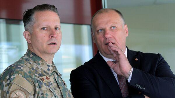 Раймонд Бергманис министр обороны Латвии - Sputnik Латвия