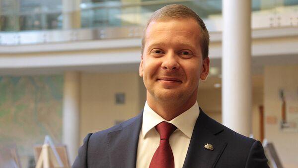 Заместитель председателя Комитета по развитию Риги Алексей Росликов - Sputnik Латвия