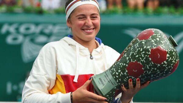 Елена Остапенко выиграла турнир в Сеуле - Sputnik Латвия
