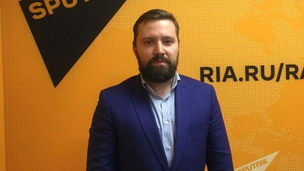 Политолог, директор Института стратегических исследований и прогнозов РУДН Дмитрий Егорченков - Sputnik Латвия