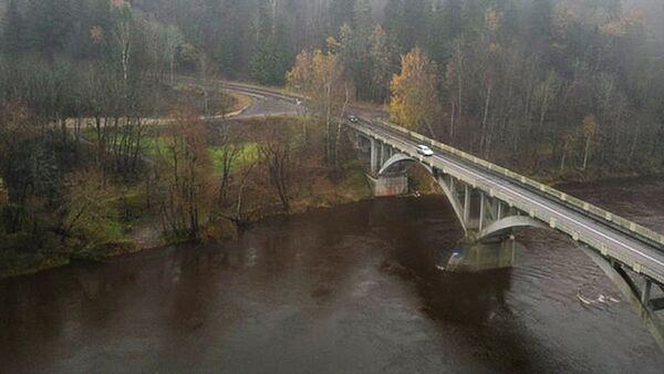 Сигулда, мост через Гаую - Sputnik Латвия