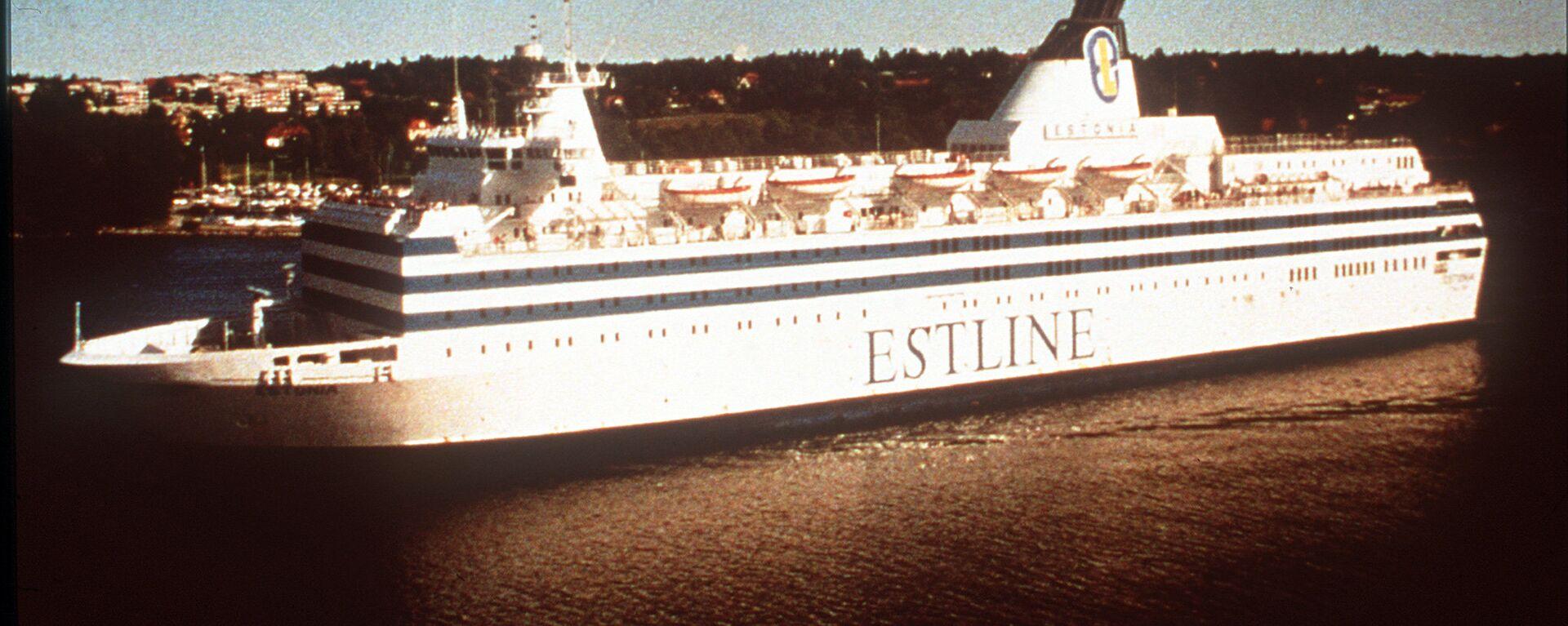 Паром Эстония - Sputnik Латвия, 1920, 28.09.2020