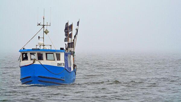 Рыболовецкое Судно в Балтийском Море - Sputnik Латвия