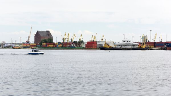 Порт Калининград - российский порт на юго-восточном побережье Балтийского моря - Sputnik Латвия