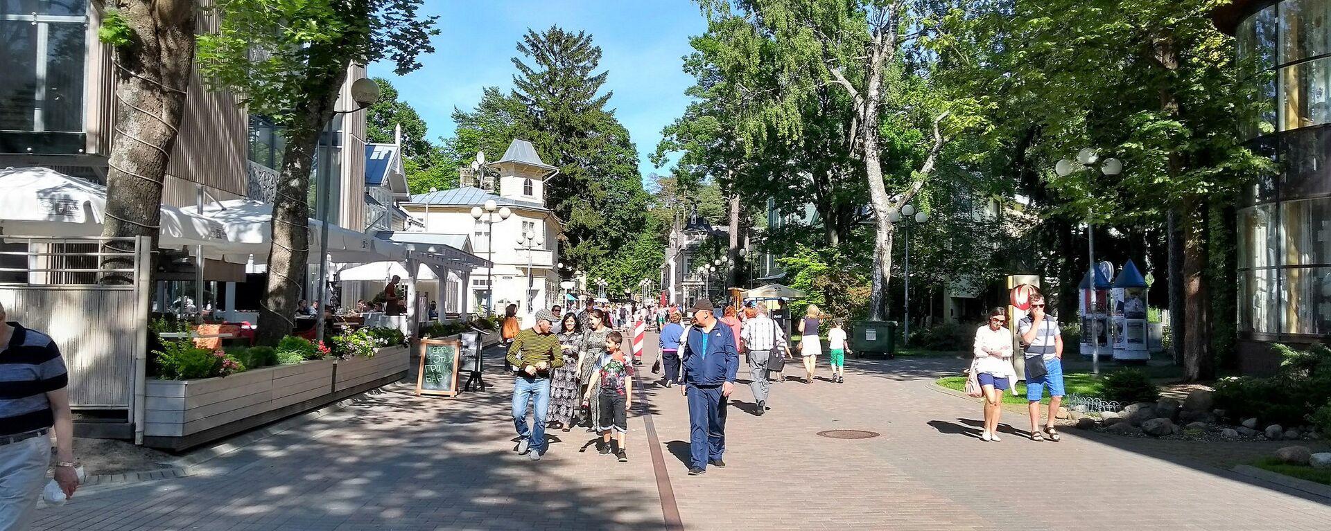 Юрмала улица Йомас - Sputnik Латвия, 1920, 14.09.2021