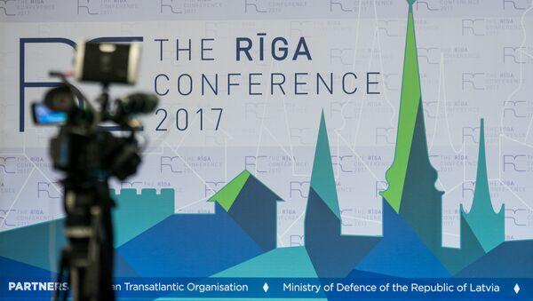 Форум по внешней политике и безопасности Рижская конференция - 2017 - Sputnik Латвия