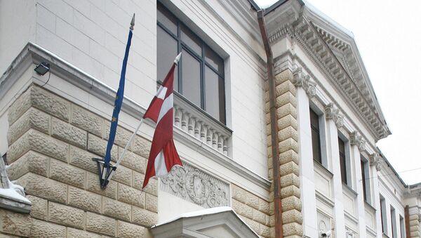 Здание посольства Латвийской Республики в Москве - Sputnik Латвия