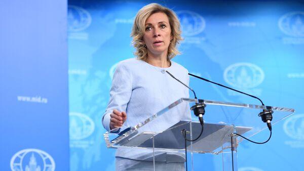 Krievijas Ārlietu ministrijas oficiālā pārstāve Marija Zaharova - Sputnik Latvija