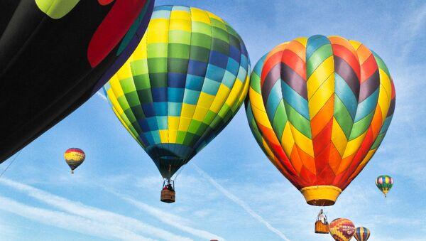 Gaisa balonā. Foto no arhīva - Sputnik Latvija