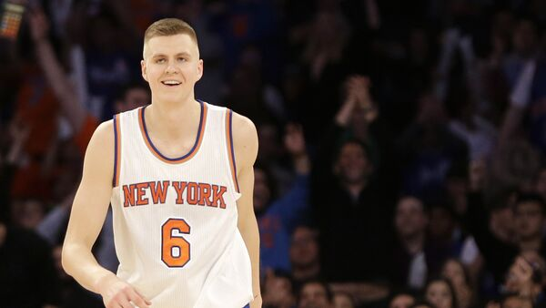 Игрок NBA Кристапс Порзингис - Sputnik Латвия