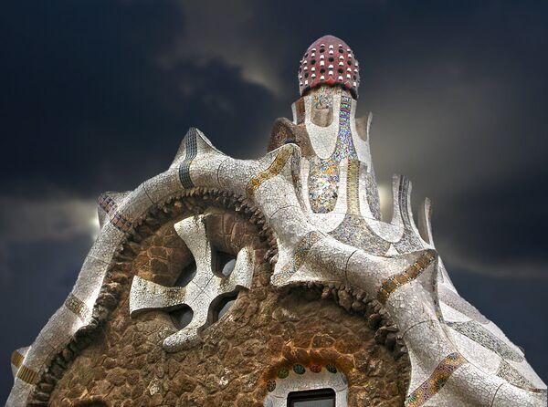 Сюрреалистичный дом (Mind House). Барселона, Испания. - Sputnik Латвия