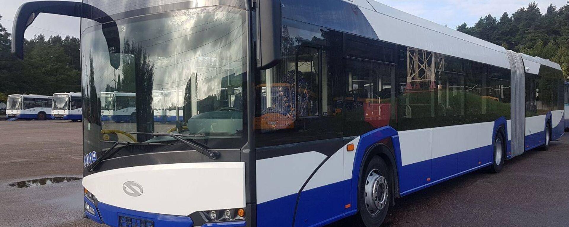 Новый автобус Solaris - Sputnik Латвия, 1920, 29.06.2021