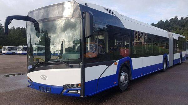 Новый автобус Solaris - Sputnik Латвия