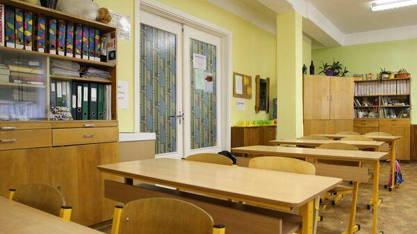 В школьном кабинете - Sputnik Латвия