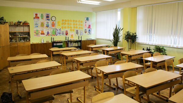 В школьном кабинете - Sputnik Latvija