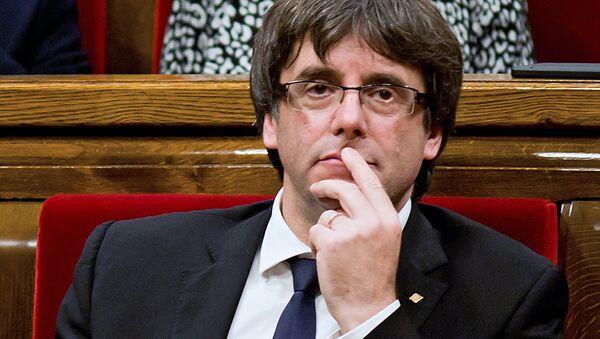 Bijušais Katalonijas valdības vadītājs Karless Pudždemons - Sputnik Latvija