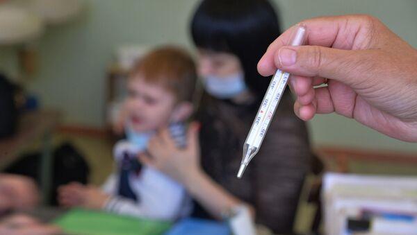 Сезонный рост заболеваемости гриппом и ОРВИ в России - Sputnik Латвия