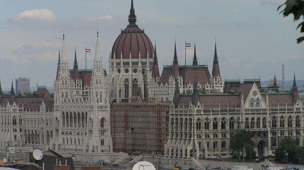 Здание парламента Венгрии - Sputnik Латвия