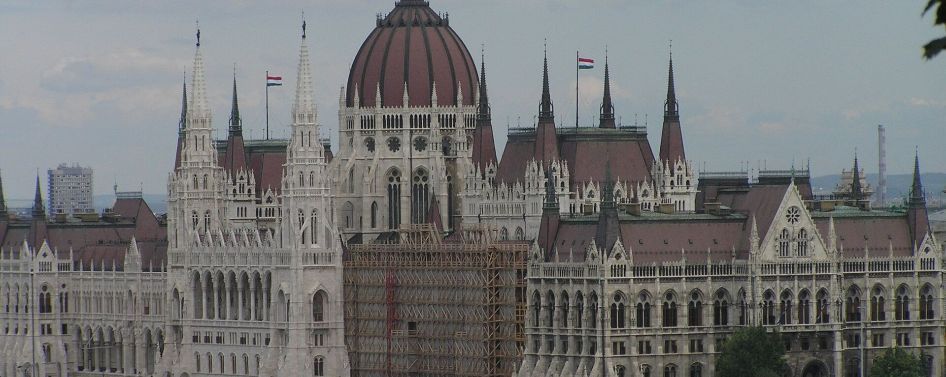 Здание парламента Венгрии - Sputnik Latvija, 1920, 29.05.2020