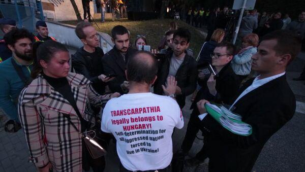 Акция Самоопределение для Закарпатья - Sputnik Латвия