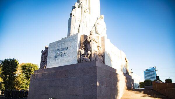 Памятник Свободы после реконструкции - Sputnik Латвия