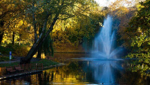 Золотая осень на рижских улицах - Sputnik Latvija