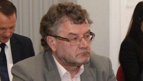 Президент Латвийской ассоциации автоперевозчиков Latvijas auto Валдис Трезиньш - Sputnik Латвия