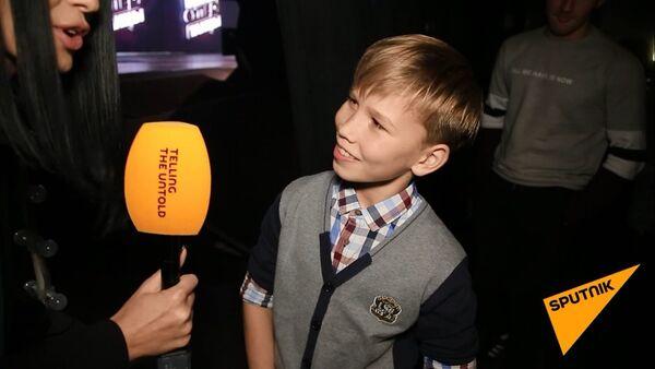 Эдгарс Гропе перед выступлением - Sputnik Латвия