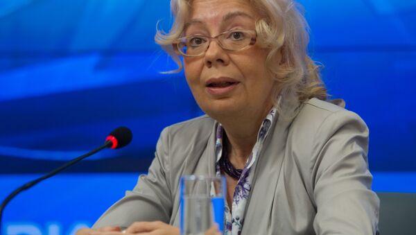 Член Коллегии (министр) по интеграции и макроэкономике, Евразиийской экономической комиссии Татьяна Валовая - Sputnik Латвия