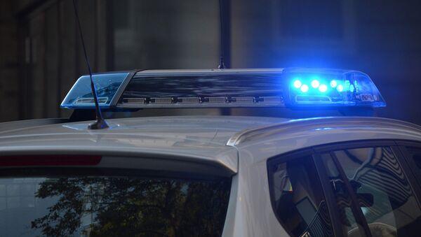 Мигалка на полицейском автомобиле - Sputnik Латвия