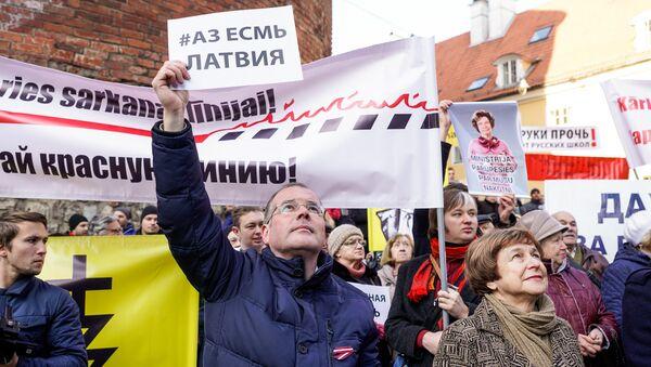 Евродепутаты Андрей Мамыкин и Татьяна Жданок - Sputnik Latvija