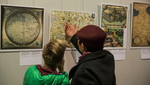 Выставка Армения на древних картах в Национальной библиотеке - Sputnik Латвия