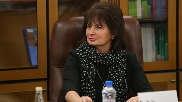 Руководитель группы дружбы между парламентами России и Латвии Зугура Рахматуллина - Sputnik Латвия