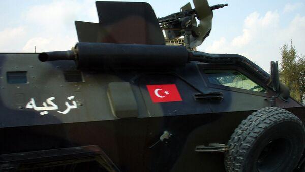 Бронеавтомобиль турецкой армии - Sputnik Latvija