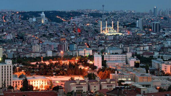 Турецкий город Анкара - Sputnik Латвия