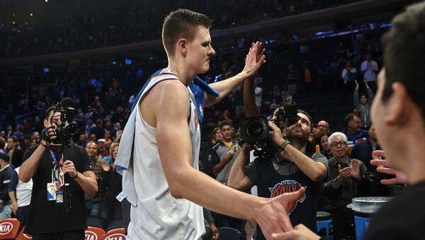 Баскетболист Кристапс Порзингис - Sputnik Латвия