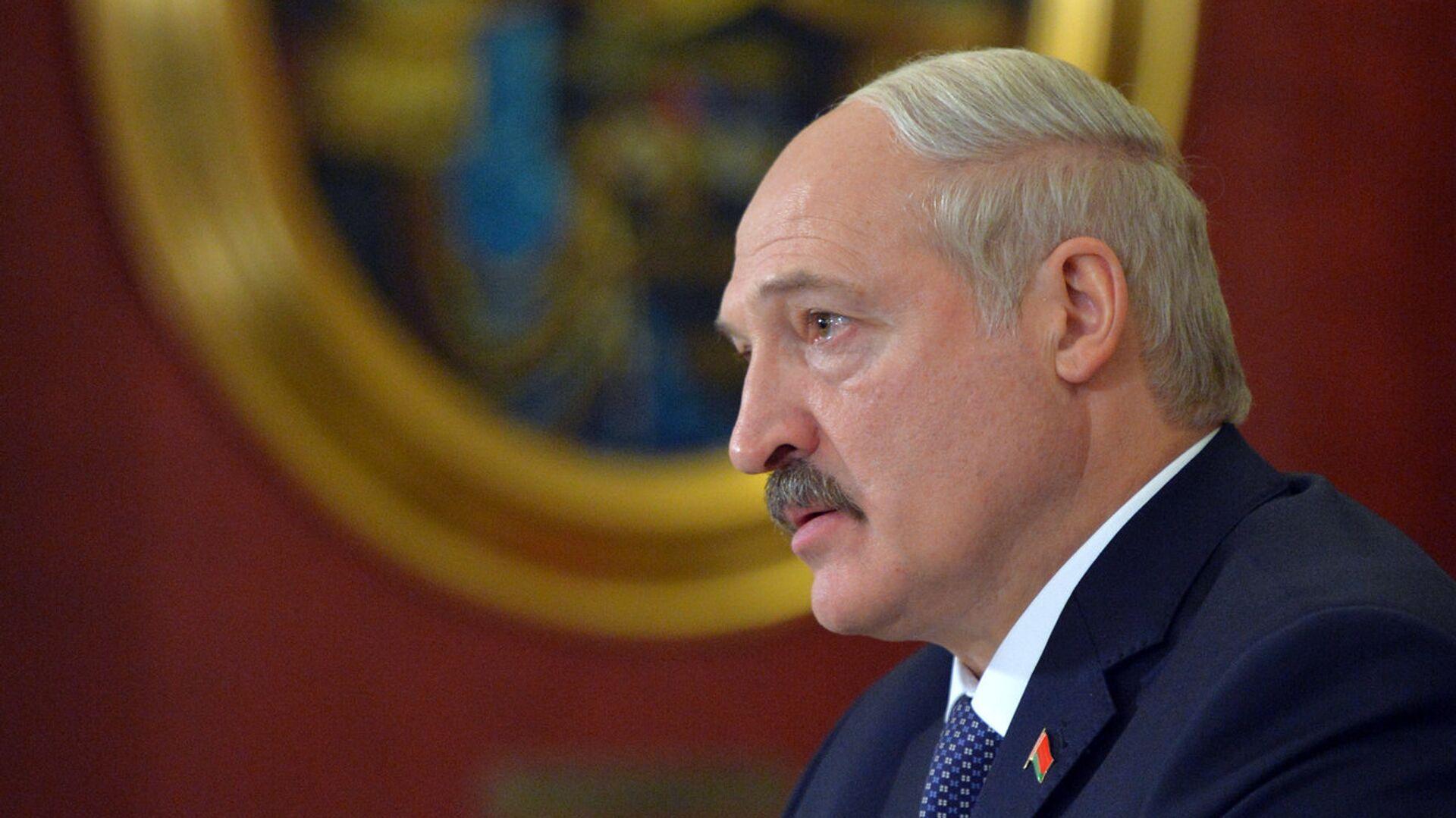 Президент РФ В.Путин провел российско-белорусские переговоры - Sputnik Латвия, 1920, 20.07.2021