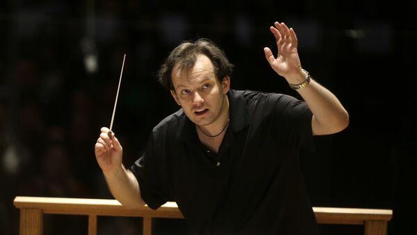 Latvijas diriģents Andris Nelsons. Foto no arhīva - Sputnik Latvija