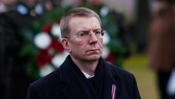 Эдгарс Ринкевичс - Sputnik Латвия