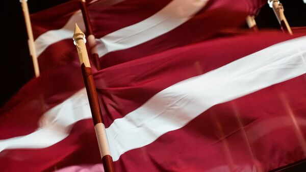 Латвийские флаги - Sputnik Латвия