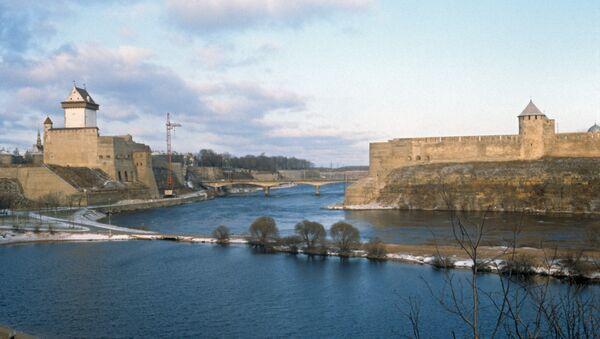 Narvas pils un Ivangorodas cietoksnis - Sputnik Latvija
