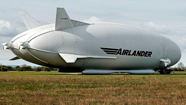 Airlander 10 - Sputnik Latvija
